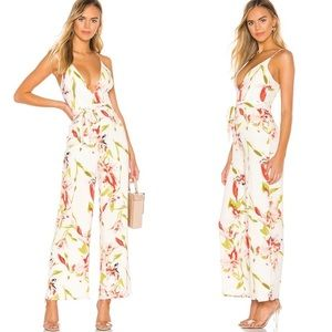 NWT Revolve Superdown Jasmine Floral Jumpsuit
